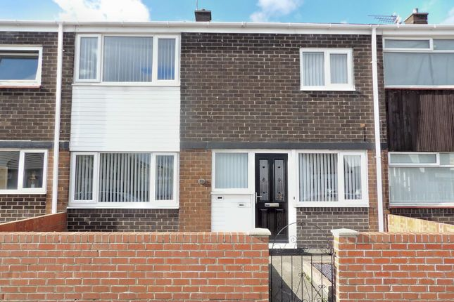 Thumbnail 3 bed terraced house for sale in Winskell Road, South Shields
