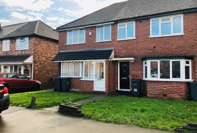 Thumbnail Semi-detached house to rent in Tideswell Road, Birmingham