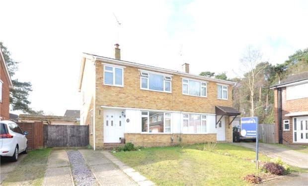 Thumbnail Semi-detached house for sale in Doreen Close, Farnborough, Hampshire