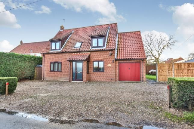 Thumbnail Detached house for sale in Whinburgh, Dereham, Norfolk