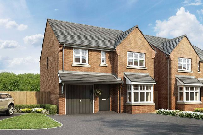 "Thumbnail Detached house for sale in ""The Ribble"" at Malthouse Way, Penwortham, Preston"