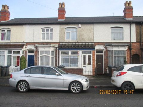 Thumbnail Terraced house to rent in Stoneleigh Road, Perry Barr