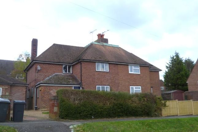 Thumbnail Semi-detached house to rent in Fox Lane, Winchester