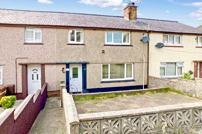 Thumbnail Terraced house for sale in Lon Ty Gwyn, Caernarfon, Gwynedd.