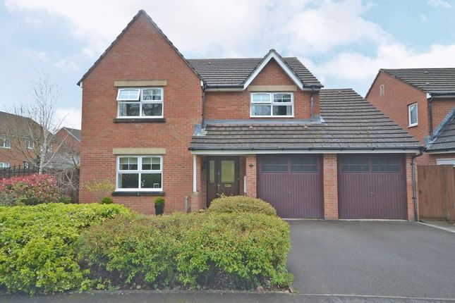 Thumbnail Detached house for sale in Exceptional Family House, Viaduct Way, Bassaleg