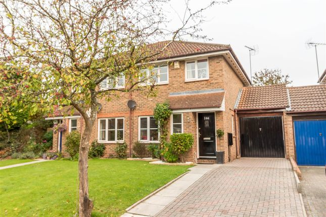 Thumbnail Semi-detached house for sale in Broad Hinton, Twyford, Reading