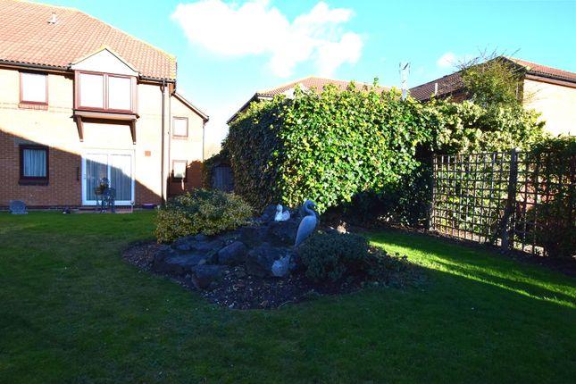 Communal Gardens of Portland Close, Chadwell Heath, Romford RM6