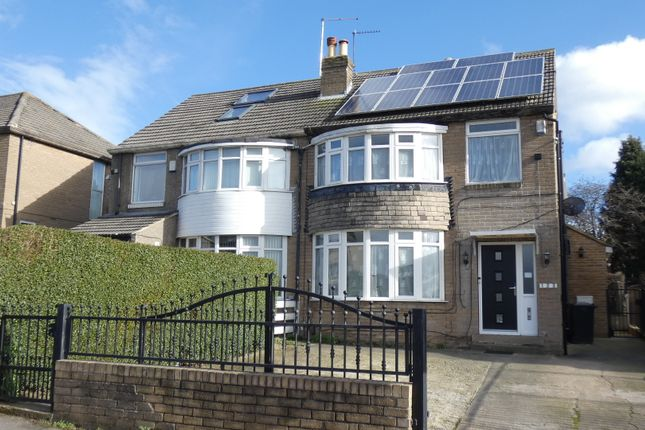 Thumbnail Semi-detached house for sale in Carr Manor Road, Leeds