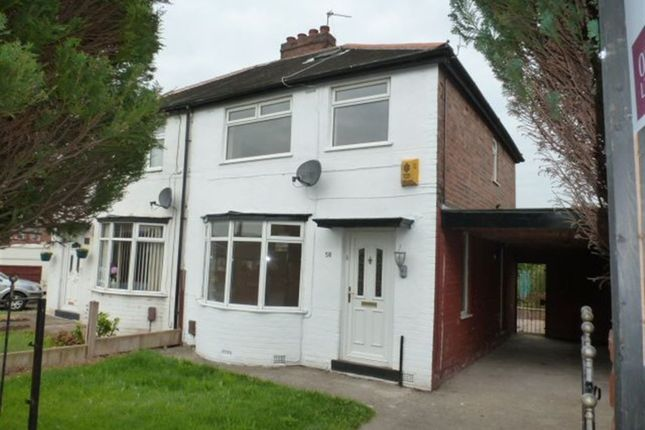 Thumbnail Semi-detached house to rent in Ferry Road, Irlam
