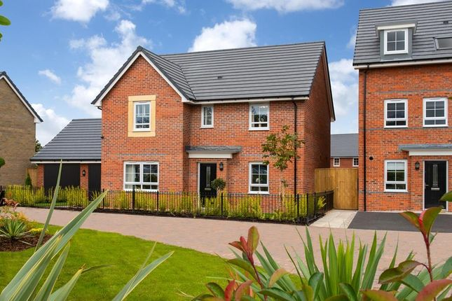 "Thumbnail Detached house for sale in ""Lamberton"" at Stretton Road, Stretton, Warrington"