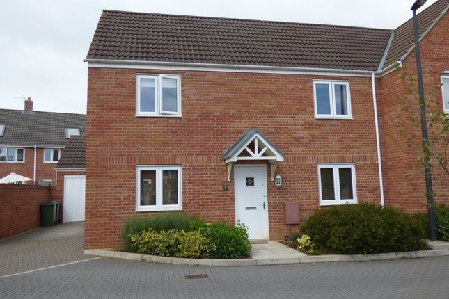 Thumbnail Semi-detached house for sale in Seymour Place, Frampton Cotterell, Bristol