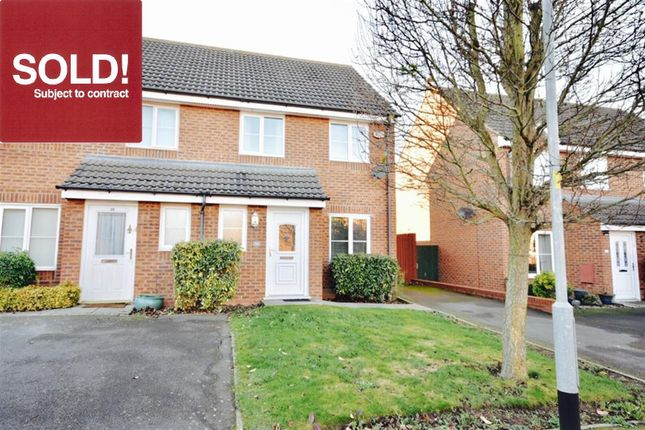 3 bed semi-detached house for sale in Barth Close, Great Oakley, Corby