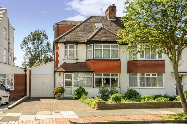 4 bed semi-detached house for sale in Sandringham Gardens, London N12,