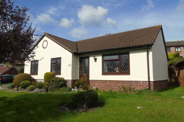 Thumbnail Detached bungalow for sale in 108, Brookfield Road, Welshpool, Powys