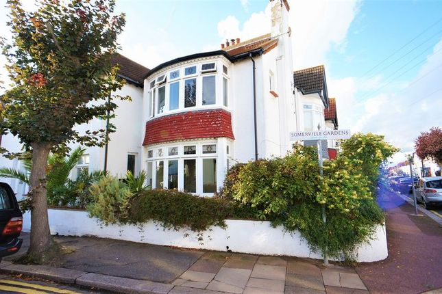 Thumbnail Flat for sale in Woodfield Road, Leigh-On-Sea