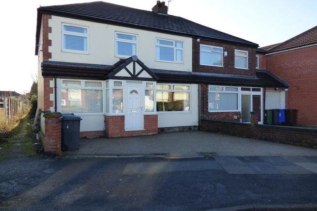 Thumbnail Semi-detached house to rent in Vaudrey Lane, Denton, Manchester