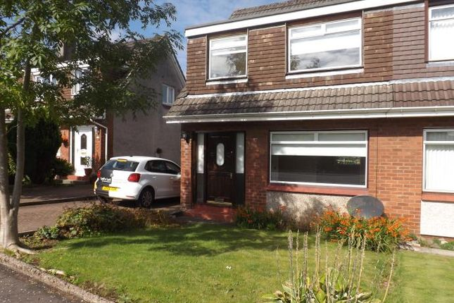 Thumbnail Semi-detached house to rent in Meadowburn, Bishopbriggs, Glasgow