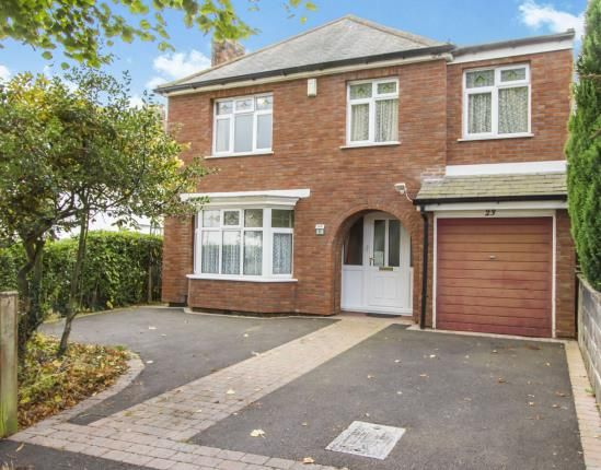 Thumbnail Detached house for sale in Glenmore Avenue, Shepshed, Loughborough, Leicestershire