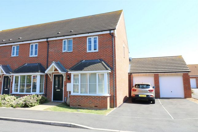 Thumbnail End terrace house to rent in Windmill Close, Deeping St James, Peterborough, Lincolnshire