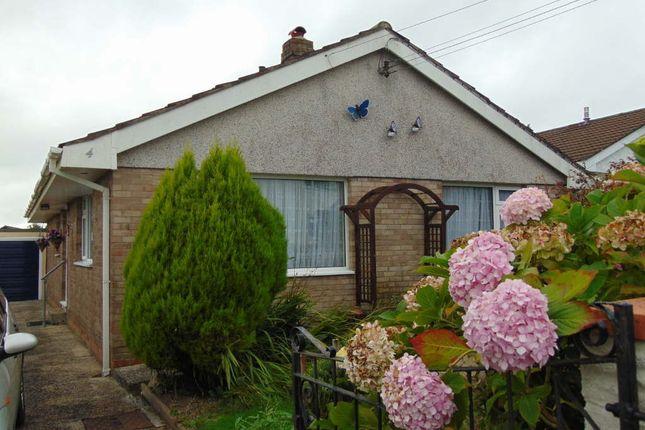 Thumbnail Detached bungalow for sale in Parc Heol Ddu, Pen Y Mynydd, Llanelli