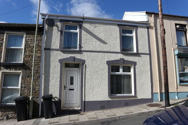 Thumbnail Terraced house for sale in Spring Street, Dowlais, Merthyr Tydfil