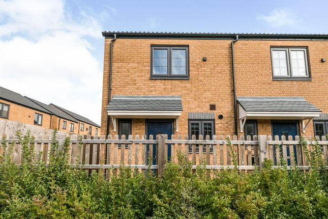 Thumbnail End terrace house to rent in Orchid Close, Birmingham