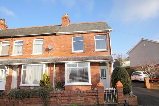 Thumbnail End terrace house for sale in 12, Grosvenor Road, Abergavenny, Monmouthshire