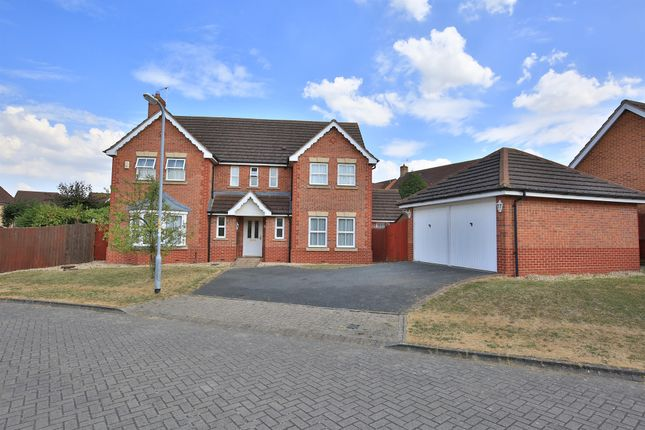 Thumbnail Detached house for sale in Amethyst Close, Sleaford