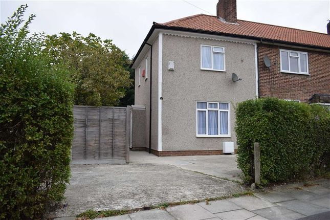 Thumbnail Terraced house to rent in Keedonwood Road, Downham, Bromley