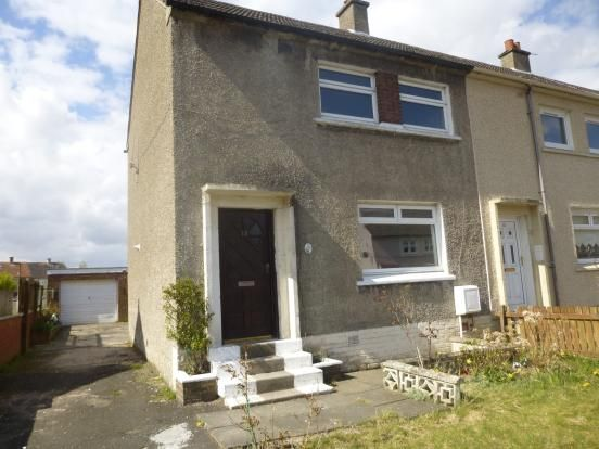 Thumbnail Terraced house to rent in Dale Drive, Motherwell, North Lanarkshire