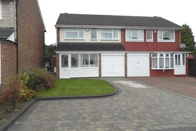 Thumbnail Semi-detached house to rent in Carlton Mews, Castle Bromwich, Birmingham