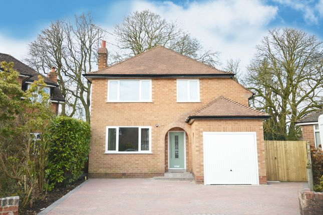 Thumbnail Detached house for sale in Portway Close, Shirley, Solihull