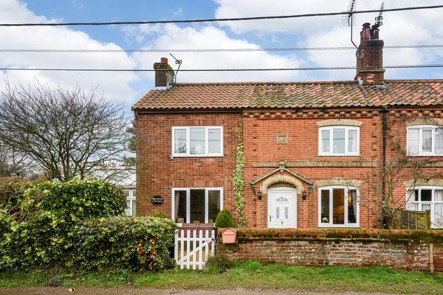 Thumbnail Semi-detached house for sale in Magnolia Cottage, Woodgate, Dereham, Norfolk