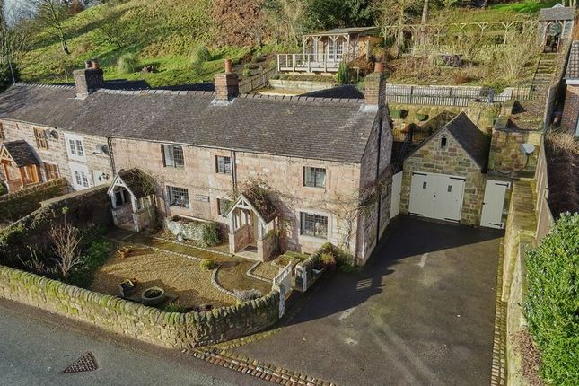 Thumbnail Cottage for sale in Dunwood Lane, Rudyard, Near Leek, Staffordshire