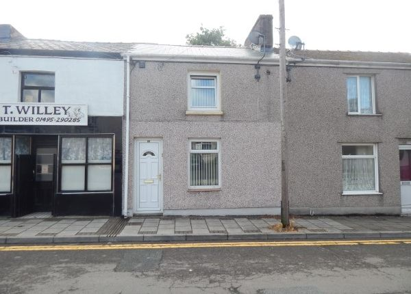 Thumbnail Terraced house to rent in Church Street, Blaina, Abertillery