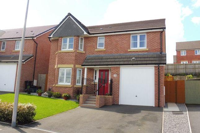 Thumbnail Detached house for sale in Pen Y Dyffryn, Cwm Faenor, Merthyr Tydfil