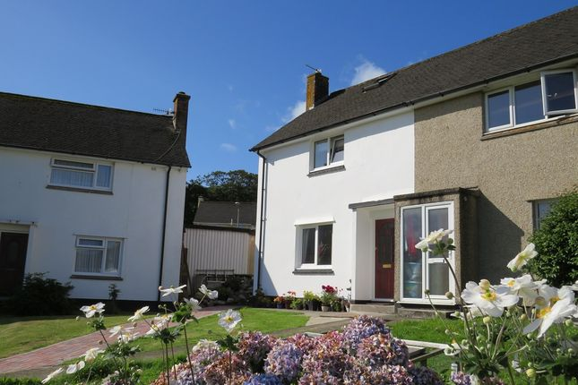Thumbnail End terrace house for sale in Trenoweth Crescent, Alverton, Penzance, Cornwall