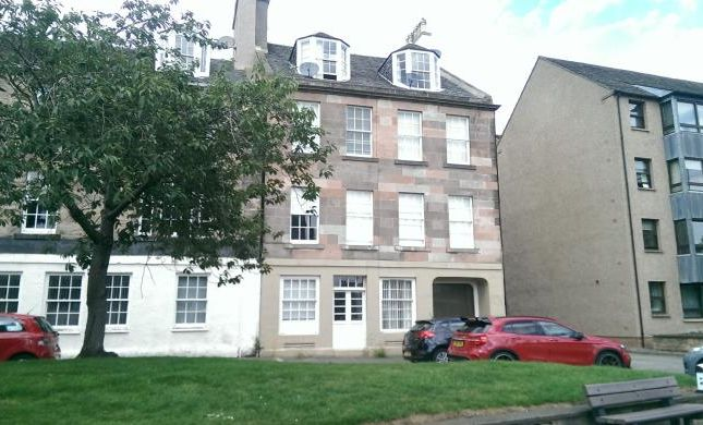 Thumbnail Flat to rent in High Street, Dalkeith