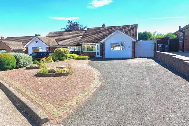 Thumbnail Semi-detached bungalow to rent in Meadowside Road, Sutton Coldfield