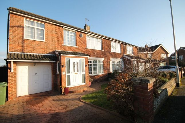 Thumbnail Semi-detached house for sale in Moulton Grove, Stockton-On-Tees