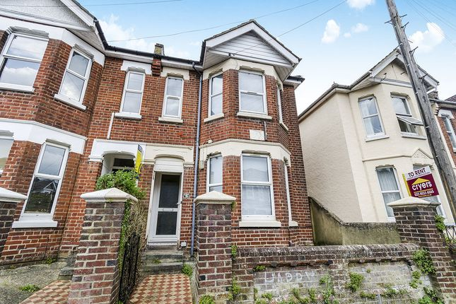 Thumbnail Terraced house to rent in Newcombe Road, Southampton