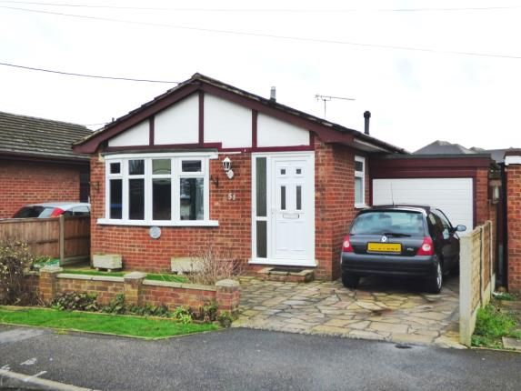 Thumbnail Bungalow for sale in Westerland Avenue, Canvey Island