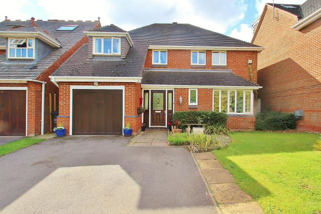 Thumbnail Detached house for sale in Whatton Oaks, Rothley, Leicestershire