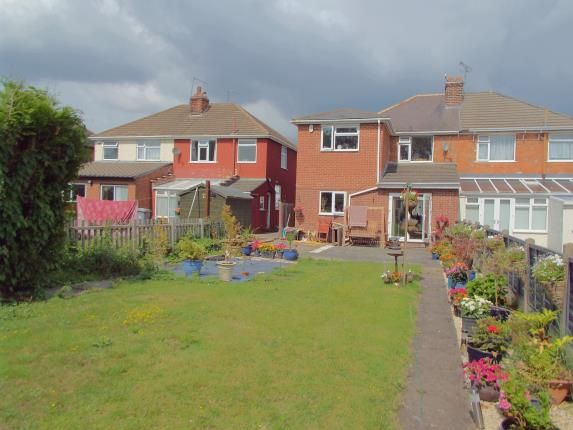 Rear Views of Shetland Road, Leicester, Leicestershire LE4