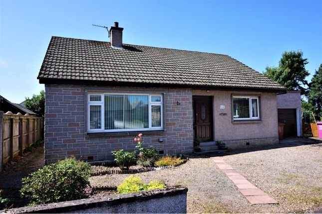 Thumbnail Detached bungalow for sale in Pinewood Road, Fochabers