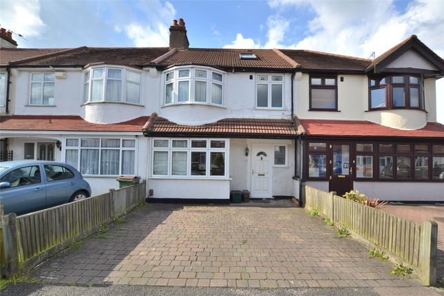 Thumbnail Terraced house for sale in Gomshall Avenue, Wallington, Surrey