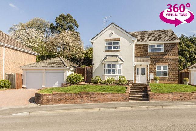 Thumbnail Detached house for sale in Highfield Close, Llanfrechfa, Cwmbran