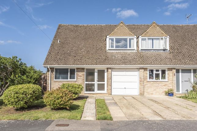 Thumbnail Semi-detached house for sale in Woodstock, Oxfordshire