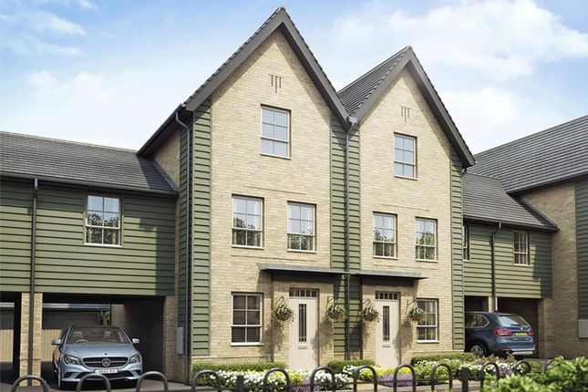 "Thumbnail Semi-detached house for sale in ""Fawley"" at Bearscroft Lane, London Road, Godmanchester, Huntingdon"