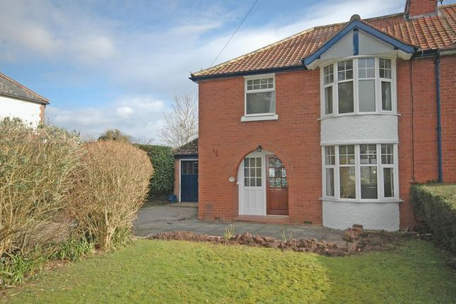 Thumbnail Semi-detached house to rent in Hereford Road, Monmouth